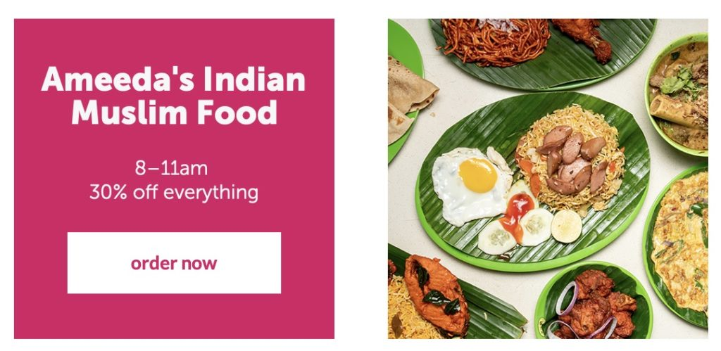foodpanda Singapore Monday Flash Sale Up to 50% Off Promotion 21 Oct 2019 | Why Not Deals