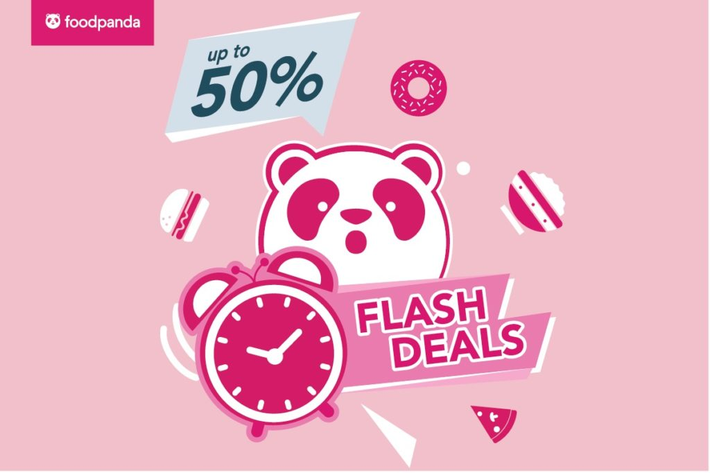 foodpanda Singapore Monday Flash Sale Up to 50% Off Promotion 21 Oct 2019 | Why Not Deals 4