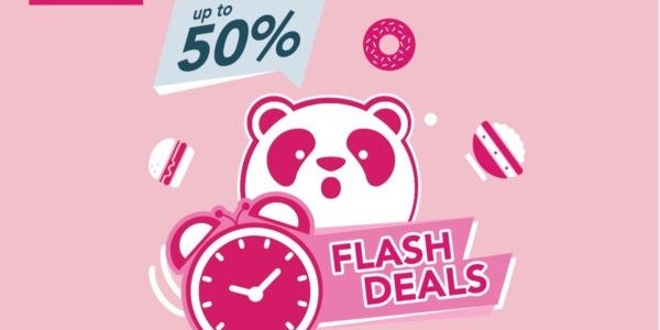 foodpanda Singapore Monday Flash Sale Up to 50% Off Promotion 21 Oct 2019