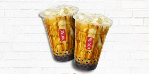 Gong Cha Singapore 1-for-1 Brown Sugar Fresh Milk with Pearl SAFRA Members' Exclusive Promotion 23-25 Oct 2019