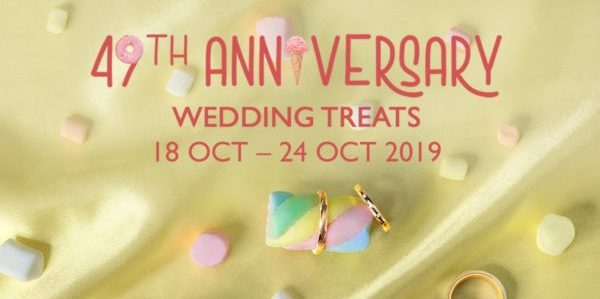 Lee Hwa Jewellery Singapore 49th Anniversary 30% Off Wedding Bands & More Promotion 18-24 Oct 2019