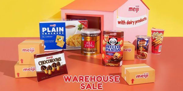 Meiji Seika Singapore Annual Meiji Warehouse Sale Is Happening From 15-16 Nov 2019