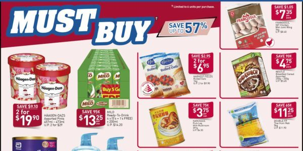 NTUC FairPrice Singapore Your Weekly Saver Promotions 24-30 Oct 2019