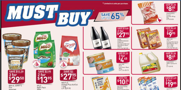 NTUC FairPrice Singapore Your Weekly Saver Promotion 3-9 Oct 2019