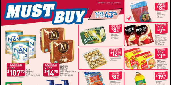 NTUC FairPrice Singapore Your Weekly Savers Promotion 17-23 Oct 2019