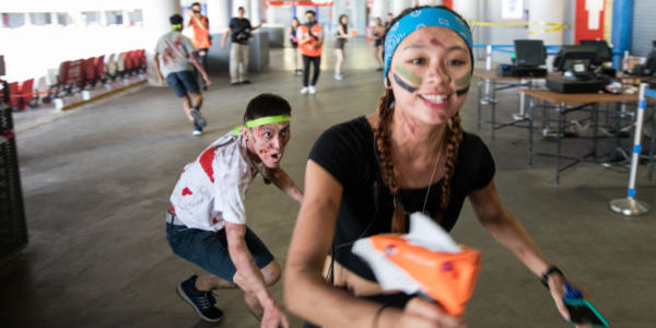 Purchase a ticket to Zedtown Asia: Battle for Singapore & Receive a Complimentary NERF Blaster