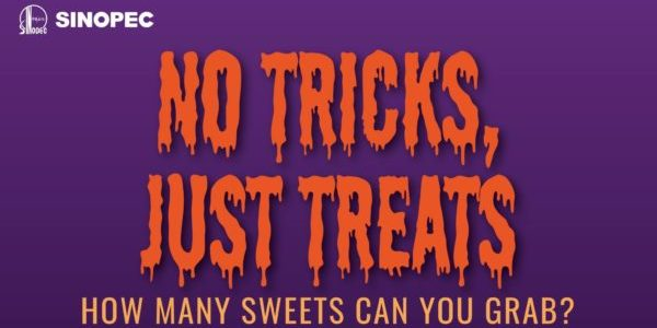 Sinopec Singapore Grab a Handful of Treats from Lucky Dip Box Halloween Special Promotion 31 Oct 2019