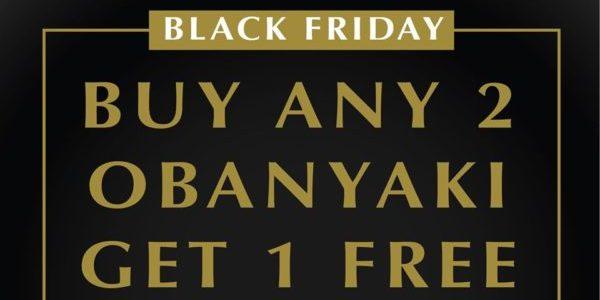 108 Matcha Saro SG Buy Any 2 Obanyaki & Get 1 FREE Black Friday Promotion 29 Nov – 1 Dec 2019