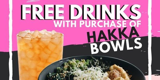 AH LOCK & Co. Singapore Purchase Any Hakka Bowl & Get a FREE Drink Promotion ends 31 Dec 2019