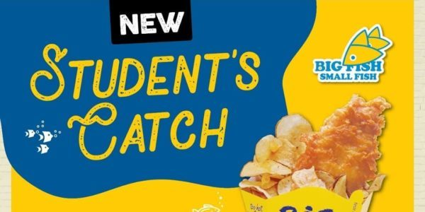 Big Fish Small Fish Singapore Student's Catch at Only $9.90 Flash Student Pass to Enjoy Promotion