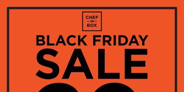 Chef in Box SG Black Friday Sale 20% Off Promotion 29 Nov – 2 Dec 2019