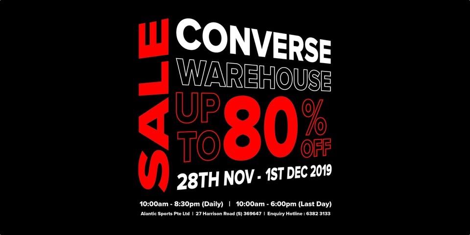 80% Off Promotion 28 Nov - 1 Dec 2019