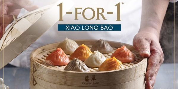 Crystal Jade Singapore Xiao Long Bao 1-for-1 Promotion ends 15 Dec 2019