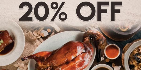 Dian Xiao Er Singapore Enjoy 20% Off All Ala-Carte Items Promotion ends 31 Dec 2019