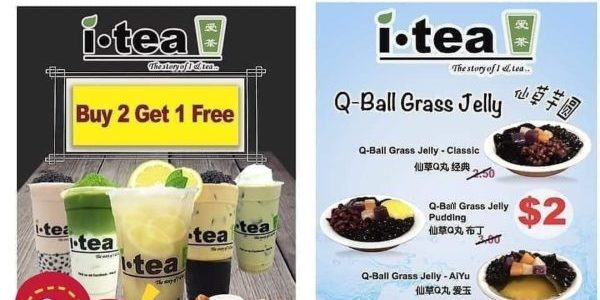 itea.sg New Outlet Buy 2 Get 1 FREE Opening Promotion ends 20 Nov 2019