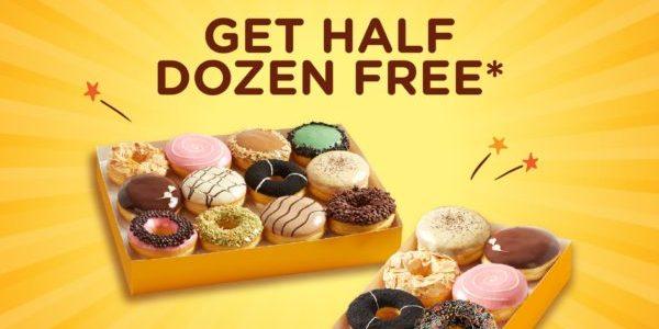 J.CO Donuts & Coffee Singapore 11th Anniversary Buy 1 Dozen & Get Half Dozen FREE Promotion 20-21 Nov 2019