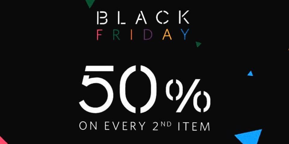 Jenjudan SG Black Friday 50% Off 2nd Item Promotion 29 Nov – 1 Dec 2019