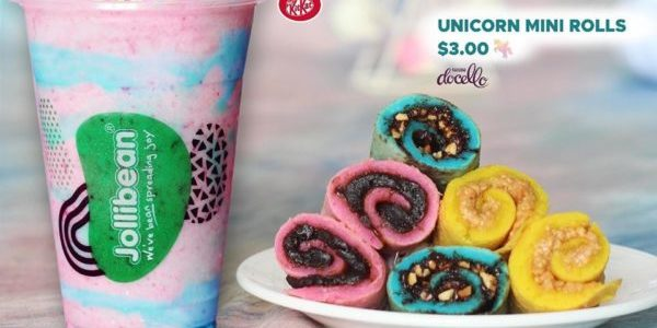 Jollibean Singapore Purchase a Unicorn Combo & Get a FREE KIT KAT BAR Promotion ends 7 Jan 2020