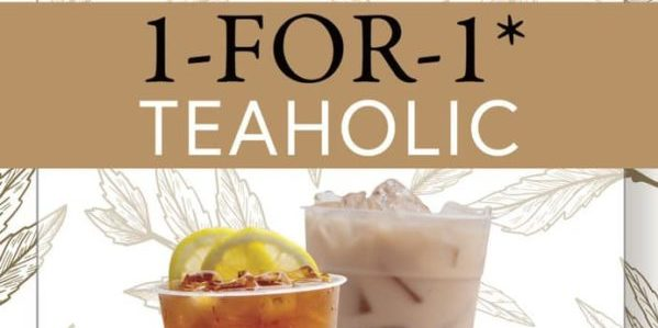 Kopifellas Singapore 1-for-1 Teaholic Promotion @ Beauty World Food Centre ends 8 Nov 2019