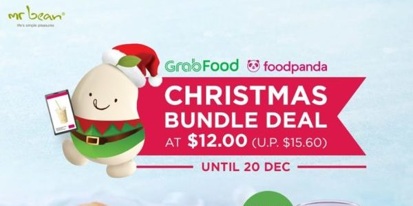 Mr Bean Singapore Christmas Bundle Deal at $12 (U.P. $15.60) Promotion ends 20 Dec 2019