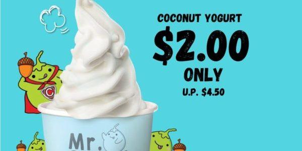 Mr Coconut Singapore Coconut Yogurt at $2 Promotion 5 Nov 2019