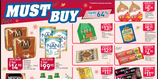 NTUC FairPrice Singapore Your Weekly Saver Promotion 14-20 Nov 2019