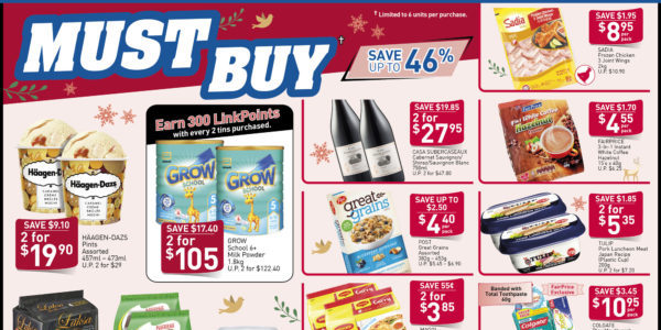 NTUC FairPrice Singapore Your Weekly Saver Promotion 21-27 Nov 2019