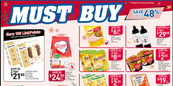 NTUC FairPrice Singapore Your Weekly Saver Promotions 7-13 Nov 2019