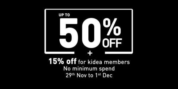 Petit Bateau SG 3 Days Black Friday Sale Up to 50% Off Promotion 29 Nov – 1 Dec 2019