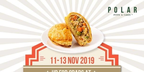 Polar Puffs & Cakes Singapore 11.11 Chicken Pies for $1.10 Promotion 11-13 Nov 2019