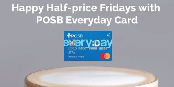 The Coffee Bean & Tea Leaf Singapore Get 50% Off Regular Latte with POSB Everyday Card on Fridays until 29 Nov 2019