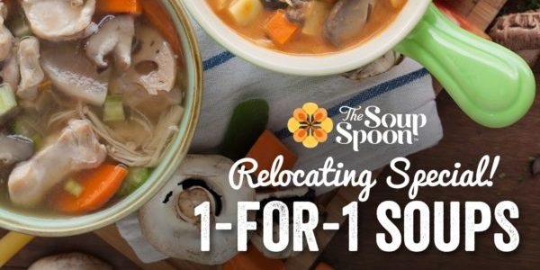 The Soup Spoon Singapore 3 Weeks of TGIFs 1-for-1 Relocating Special Promotion 8-22 Nov 2019