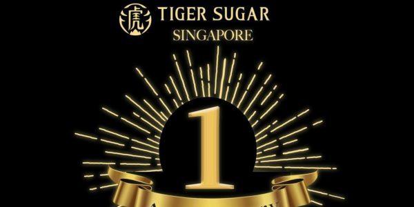 Tiger Sugar Singapore 1st Anniversary Buy 2 Get 1 FREE Promotion 3 Nov 2019