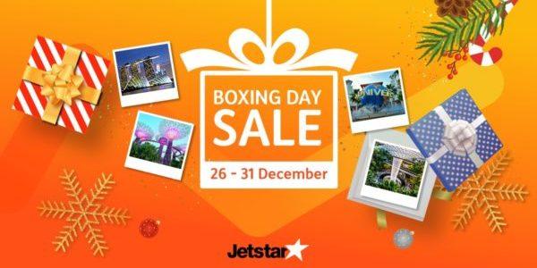 Jetstar Asia Boxing Day Sale 26-31 Dec 2019