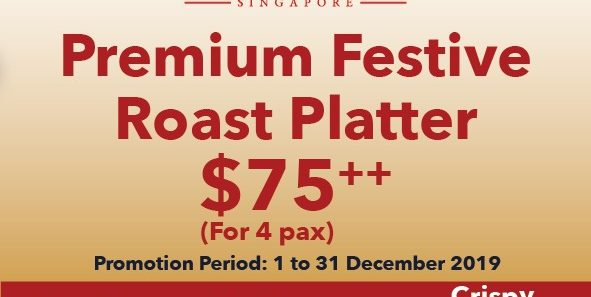 Kam's Roast SG Festive Roast Platter at $75++ Promotion 1-31 Dec 2019