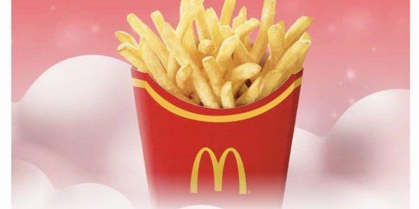McDonald's SG 1-for-1 Large Fries 29-31 Dec 2019
