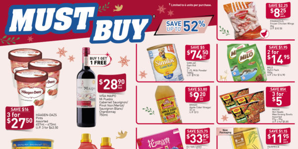 NTUC FairPrice SG Your Weekly Saver Promotions 19-25 Dec 2019