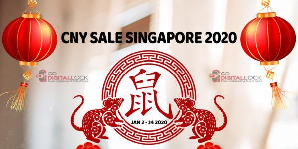 CNY Bundle (Door + Gate + Digital Lock) Promotion Sale Singapore 2020