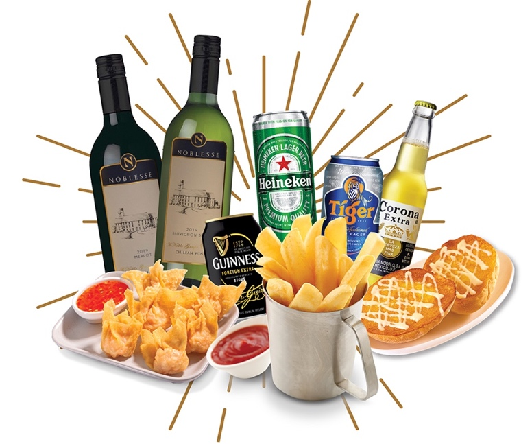 Happy Hour: 50% off ALL alcoholic drinks at Tsui Wah Clarke Quay