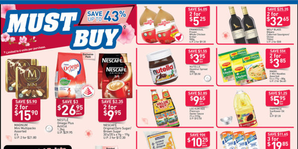 NTUC FairPrice SG Your Weekly Saver Promotions 2-8 Jan 2020