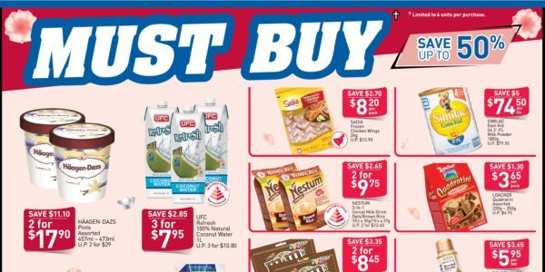 NTUC FairPrice SG Your Weekly Saver Promotions 23 Jan – 5 Feb 2020