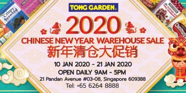 Tong Garden SG Chinese New Year Warehouse Sales 10-21 Jan 2020