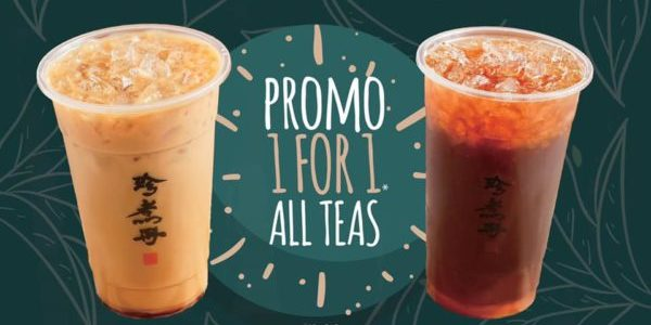 Truedan SG Tea Time Special 1-for-1 Promotion 10-31 Jan 2020