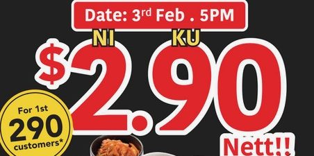 Yakiniku Like Grand Opening on 3 February with Karubi Set at only $2.90!