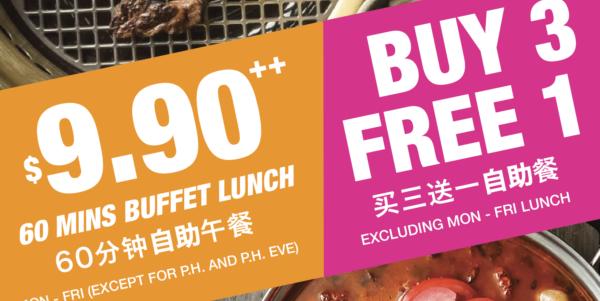 $9.90 Lunch Buffet at Sun Plaza!