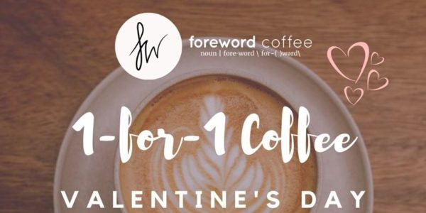 Foreword Coffee SG Valentine's Day 1-for-1 Coffee Promotion