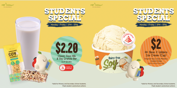Mr Bean Students Special – Deals as low as $2!