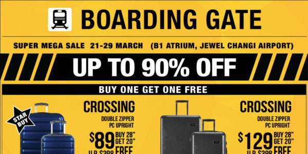 UP TO 90% OFF SUPER MEGA SALES IN SINGAPORE