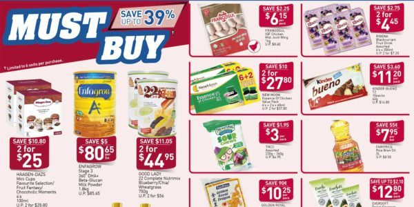 NTUC FairPrice SG Your Weekly Saver Promotion 12-18 Mar 2020
