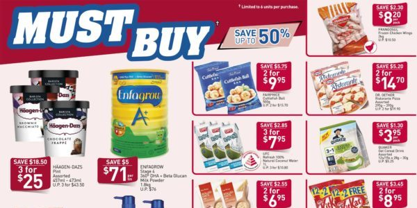 NTUC FairPrice SG Your Weekly Saver Promotion 26 Mar – 1 Apr 2020